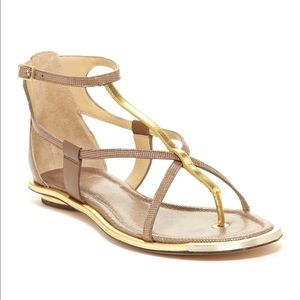 Brian Atwood Caswell  Strappy Sandals